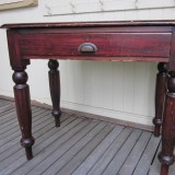 1880s teacher's desk L87 W55 H75