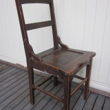 1880s teacher's chair L36 W39 H93