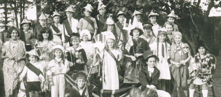 North Ryde PS Empire Day Tableau 1934