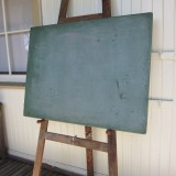 1950s green blackboard L92 W120 H5