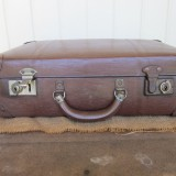 1950s globite schoolcase L39 W23 H15
