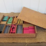 Box of cuisenaire rods