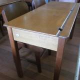 1950s student desk L107 W45 H60