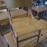 1950s student chair L34 W35 H67