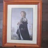 Copy of Queen Elizabeth II Frame W34 H42
