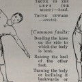 Detail of a physical training exercise 1916